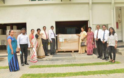 Donation to the University of Colombo from the International Atomic Energy Agency via the Sri Lanka Atomic Energy Board