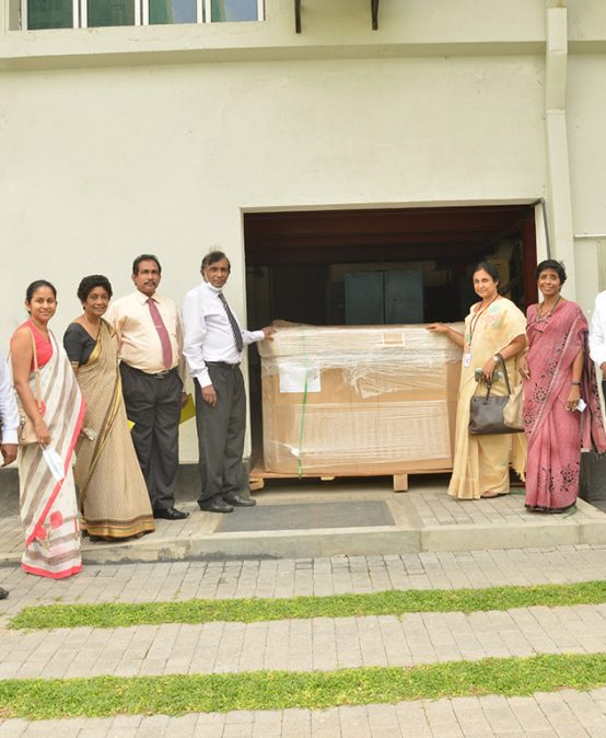 Donation to the University of Colombo from the International Atomic Energy Agency via the Sri Lanka Atomic Energy Board