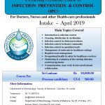 e-learning Certificate Course in Infection Prevention & Control