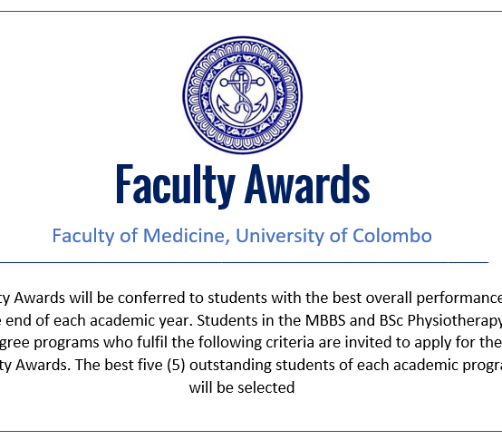 Faculty Awards – 2019