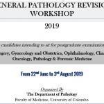 General Pathology Revision Workshop – 2019