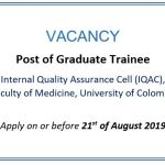Post of Graduate Trainee – IQAC