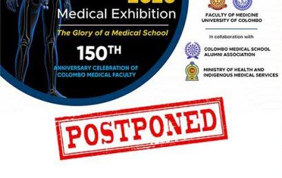 Postponement of the Medivision 2020 Medical Exhibition